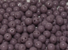 RounDuo Beads® Opaque Lilac Shimmer