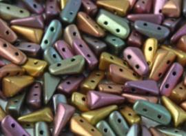 Vexolo® 5x8mm Purple Iris Gold -01640