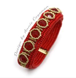 Kit Bracelet Skill- Rouge Dore