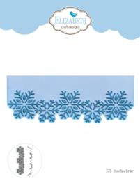 Snowflake Border- 1572 Elisabeth craft Design