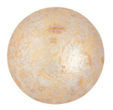 Cabochon 18mm ®Par Puca® - Opaque Ivory Spotted