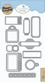 Planner Labels - 1658 Elisabeth Craft Design