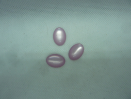 Cabochon  Polaris ovaal - Roze/lila