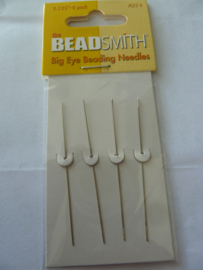 Big eye Beading Needles - kort [4]