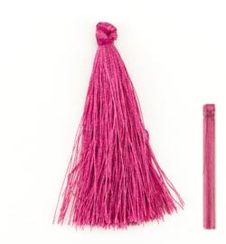 Tassel Donker roze