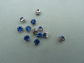 Montees 6mm -Light Sapphire