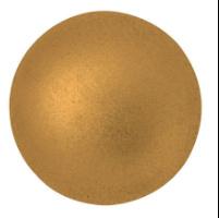 Cabochon 14mm ®ParPuca® Bronze Gold mat