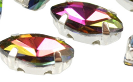 Crystal Navettes 5x10mm [in setting] Crystal Vitrail-36