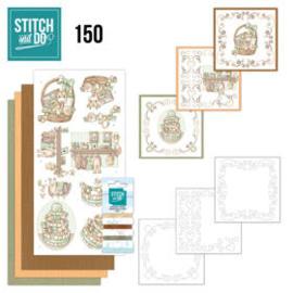 Stitch & Do 150 New Born baby