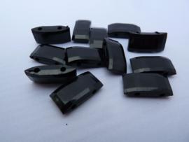 Verdelers zwart   18x9x5mm  [ lxbxd ]