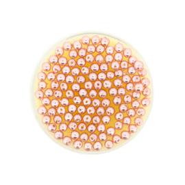 Parel 3mm- Olt Rose
