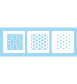 Honey comb stencils - LCSH001