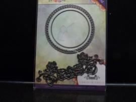 Flowers en Circles - Jad 10034