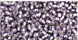 Toho 11-39 silverlined Tanzanite