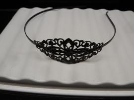 zwart Metalen Haarband om te Decoreren
