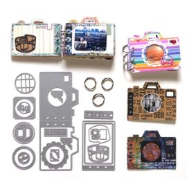 Camera Kit -K001 Elisabeth craft Design