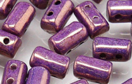 Rulla Beads Luster Metallic Amethyst Chalk - LE03000