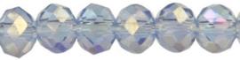 Rondelles 2x3mm Light Sapphire AB 2 -32726