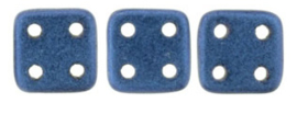 Quadra Tile zcechmates 79031MJT  Metallic Suede Blue.