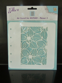 Nellie's stencil - bloemen colst002