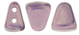 Nib-bit 6/5mm [loose] Luster Metallic Amethyst Chalk LEO3000