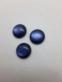 Cabochon Polaris -Blauw glanzend