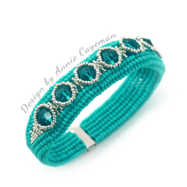 Kit Bracelet Skill- Turquoise/Argent