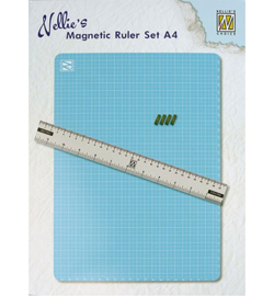 Magnetic Ruler set incl lineaal - MAGM001
