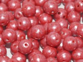 RounDuo Beads ®- Opaque Red