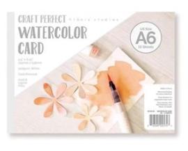Watercolour cards A6 craft perfect van Tonic Studio's