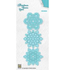 Christmas Die -CRSD017 snowflakes