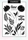 Silhouet Stamp Blooming - KJ03