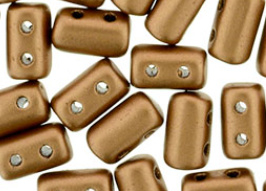 Rulla Beads Mat Metallic Bronze Copper - K01780