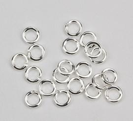 Ringetje zilver kleur 1134