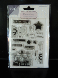 Clear stamp Joy craft- 6410-0529