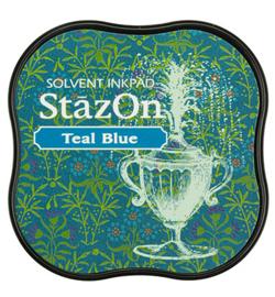 Stazon midi- Teal Blue