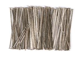 Niet stift 32mm zilver