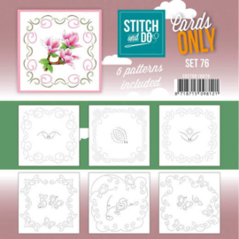 Stitch and Do Cards only