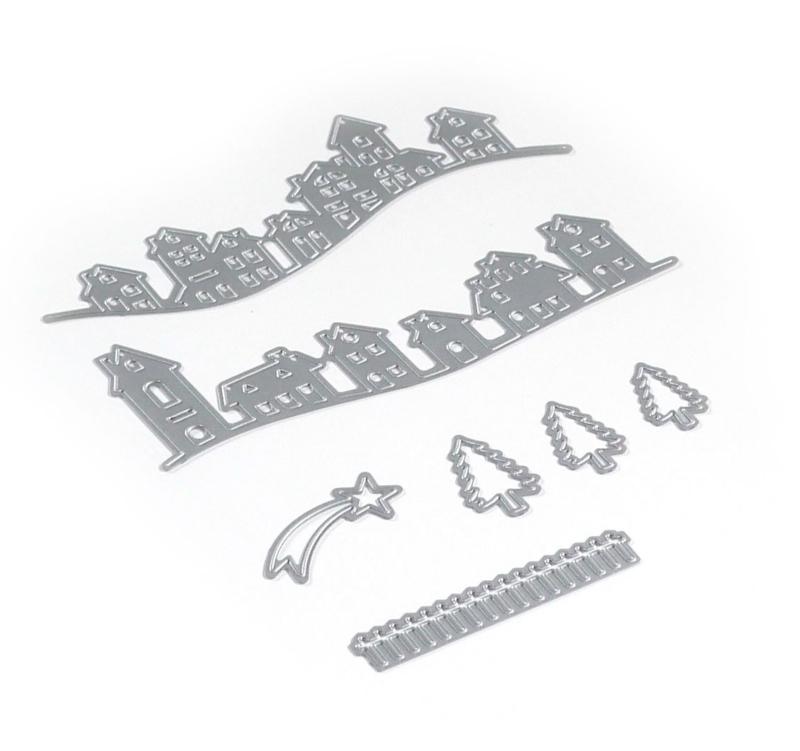 Village Edges- 1691 Elisabeth craft Design