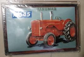 Metaalplaat Hanomag R545
