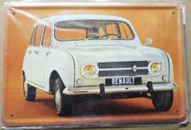 Metaalplaat Renault