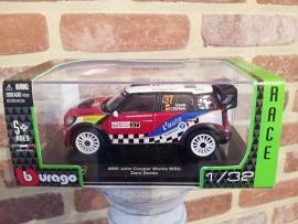 Schaalmodel Mini John Cooper Works WRC Dani Sordo  1/32