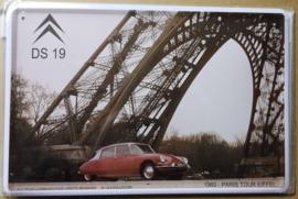 Metaalplaat Citroën DS 19