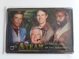 Metaalplaat The A-Team