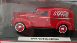 schaalmodel 1940 Ford Sedan Delivery (Coca Cola)  1/24