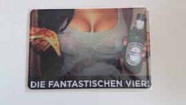 Metaalplaat Heineken