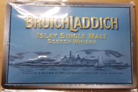 Metaalplaat Whiskey Bruichladdich