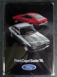 Metaalplaat Ford Capri Serie '76