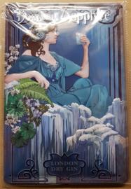 Metaalplaat Bombay Sapphire