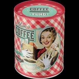 Spaarpot Coffee
